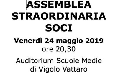 Assemblea Straordinaria soci per modifica statuto