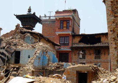 Emergenza terremoto in Nepal