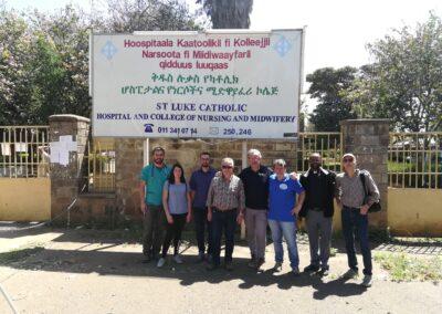 Allestimento della nuova Neonatologia dell'Ospedale San Luca di Wolisso