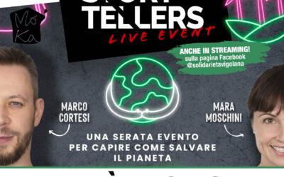 """""""Green Storytellers Live Event"""" – venerdì 29 ottobre ore 20.30 Prenota il tuo posto!"""